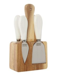 Kitchen Craft Artesà Appetiser Cheese Knife Set