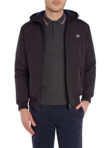 Fred Perry Brentham hooded quilted jacket