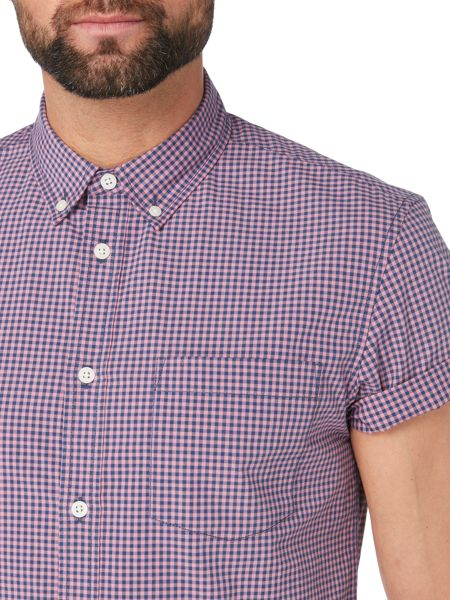Criminal Douglas Mini Gingham SS Shirt