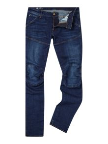G-Star 5620 Elwood dark aged super slim fit jean