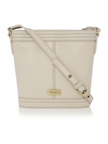 Gregory neutral bucket crossbody bag