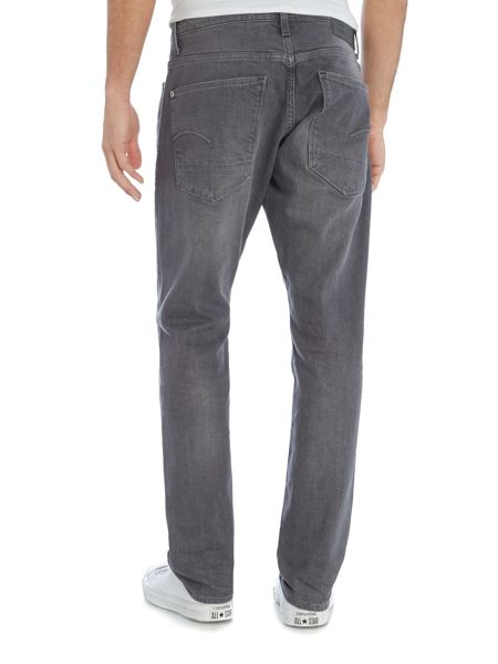 G-Star Stean medium aged grey tapered fit jean