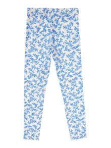 Benetton Girls Ditsy floral print leggings
