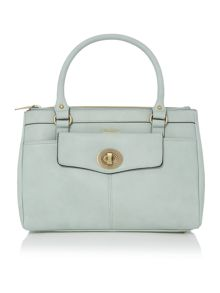 Monroe light blue ew tote bag