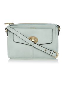 Monroe light blue crossbody bag