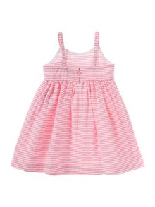 Girls Striped searsucker dress