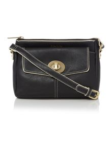 Monroe black crossbody bag