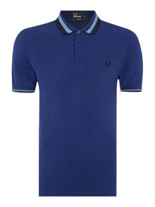 Fred Perry Textured bold tipped polo