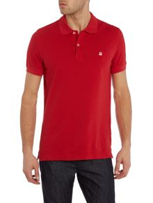 Benetton Logo Polo Regular Fit Polo Shirt