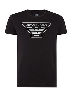 Men's Armani Jeans Regular Fit Logo T Shirt