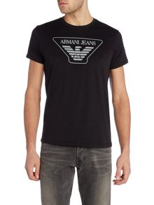 Armani Jeans Regular Fit Logo T Shirt