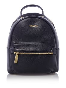 Ollie & Nic Cabana black mini backpack bag
