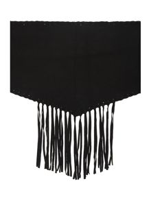 Label Lab Suede tassel neckerchief