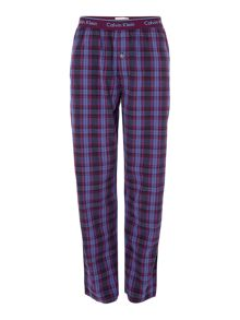 Calvin Klein Will plaid pyjama bottoms