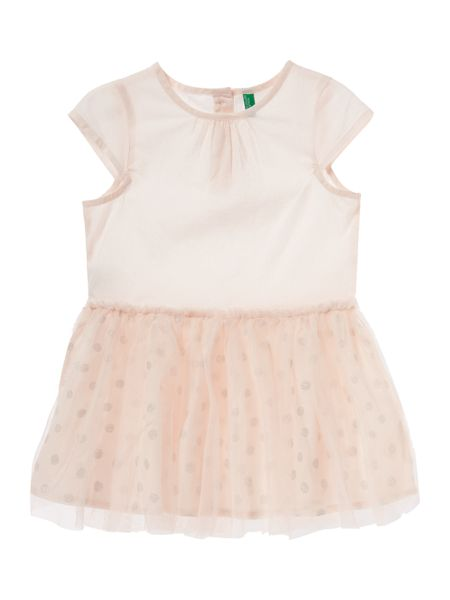 Benetton Girls Glitter spot dress