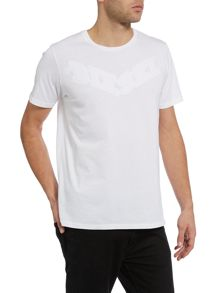 T-joe regular fit solid logo t shirt