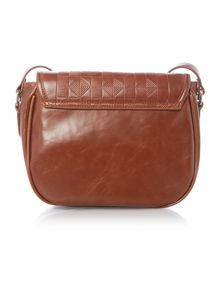 Ollie & Nic Inca tan saddle bag