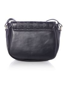 Ollie & Nic Inca black saddle bag