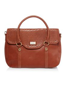 Ollie & Nic Kane tan tote crossbody bag