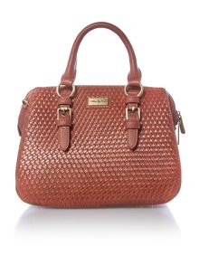 Ollie & Nic Kane tan boxy crossbody bag