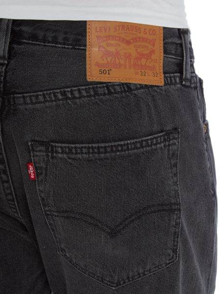 Levi's 501® Original Fit Black Range Jeans