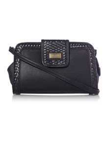 Ollie & Nic Kane black crossbody clutch bag