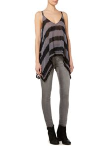 Label Lab Tie dye stripe cami