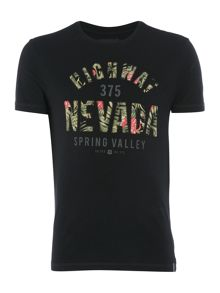 Criminal Nevada Text Graphic T-Shirt