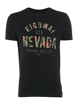 Nevada Text Graphic T-Shirt