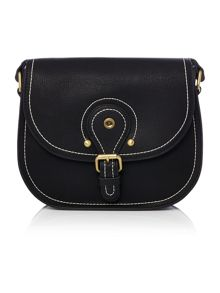 Ollie & Nic Ritchie black saddle bag