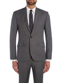 Kenneth Cole Taylor SB2 Sharkskin Suit Jacket