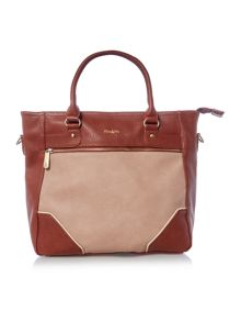 Ollie & Nic Turner multi tan large tote bag
