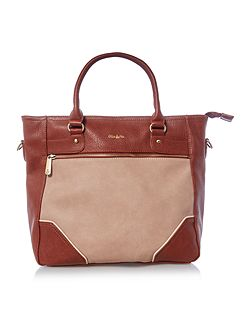 Turner multi tan large tote bag
