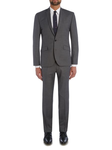Kenneth Cole Taylor Slim fit Sharkskin Suit Trouser