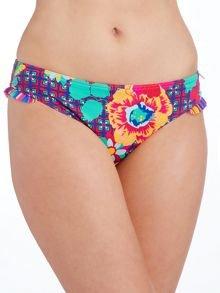 Lepel Sun kiss frill low rise pant