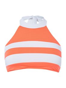 Seafolly Block party spliced tank top