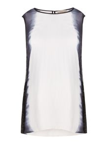 Label Lab Beaded Dip Dye Side Vest