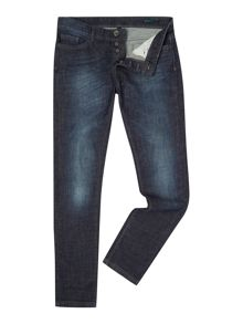 Benetton Mid Wash Slim Fit Jeans