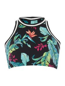Seafolly Jungle out there bikini tank top