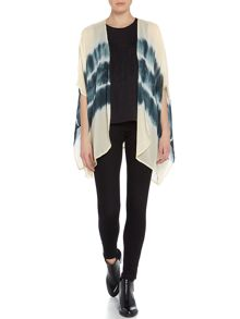 Label Lab Stripe Box Pleat Kimono