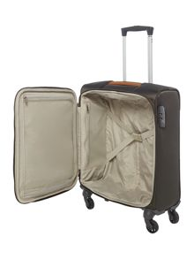 Samsonite Caphir olive 4 wheel soft cabin suitcase