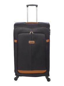Samsonite Caphir black 4 wheel soft large suitcase