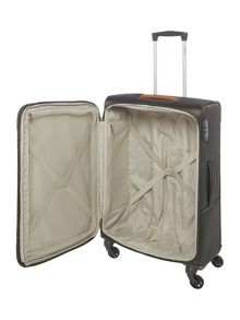 Samsonite Caphir olive 4 wheel soft medium suitcase