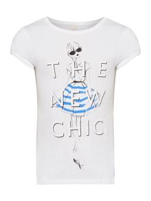 Benetton Girls New chic girl graphic tee