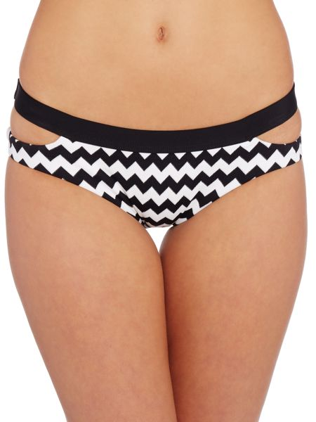 Seafolly Mod club split band hipster