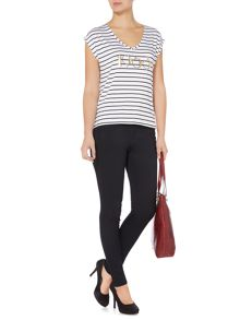 Biba Striped 1963 t-shirt