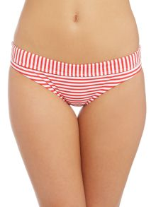 Seafolly Riviera stripe hipster brief