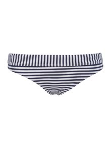 Seafolly Riviera stripe hipster