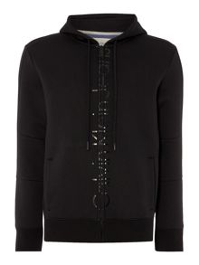 Calvin Klein Jepson long sleeve zip through hoodie