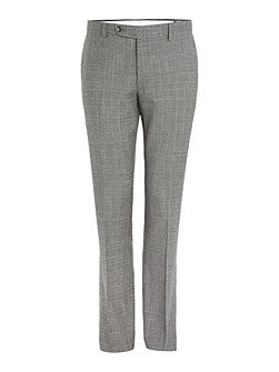 Atillo Italian Wool Check Suit Trouser